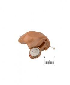 Цифровой внутриушной слуховой аппарат с регулятором громкости Sonic модель CR40 ITCW, WL BE CHEER 40 VC