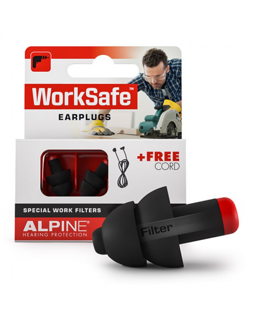 Беруши для работы Alpine WorkSafe (Голландия)