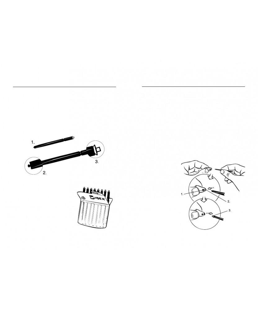 Серные фильтры для ВУСА Widex 8 шт