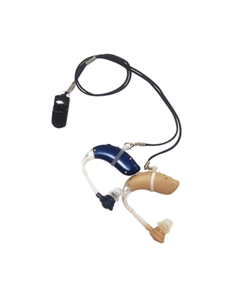 Клипса-держатель для слухового аппарата 2 кольца