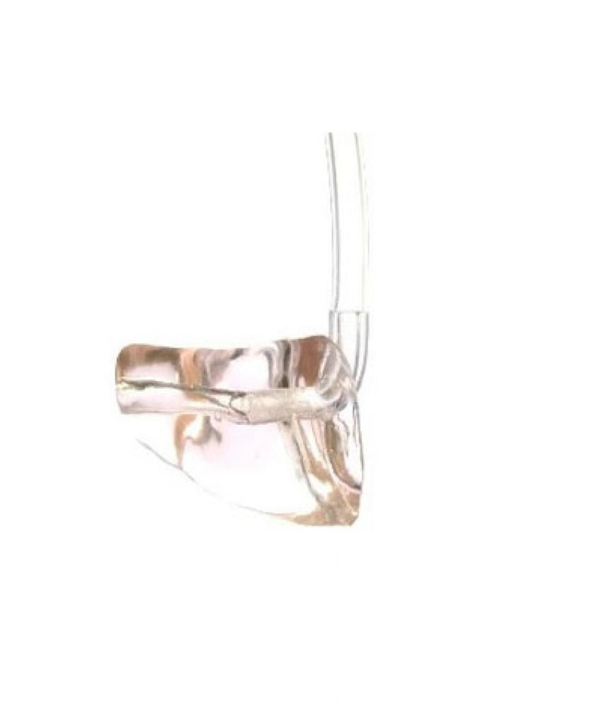 Индивидуальный ушной вкладыш твердый (ИУВ) фотополимер с трубкой (без уголка)